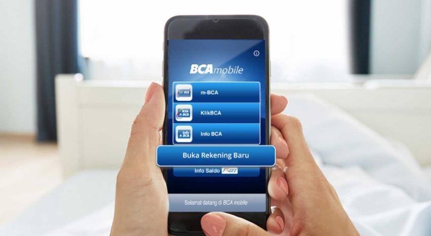 Gambar 3 - Cara membuat rekening BCA online (melalui aplikasi BCA mobile)