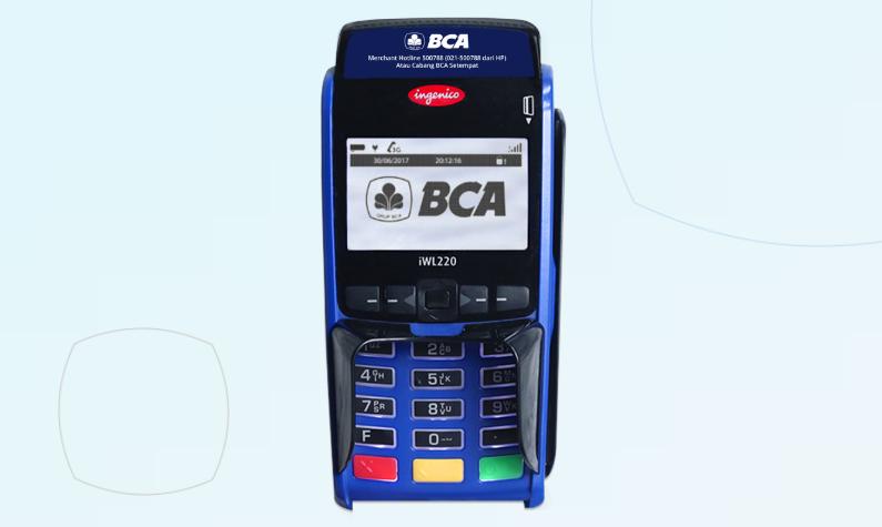 Gambar 3 - Cara reprint EDC BCA untuk transaksi baru dan lama