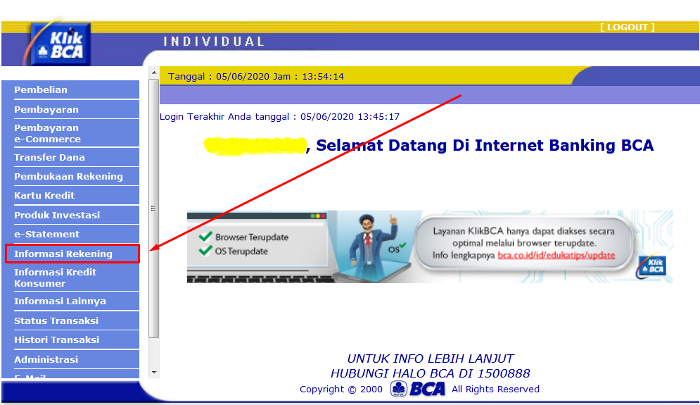 Gambar 3 - Internet banking