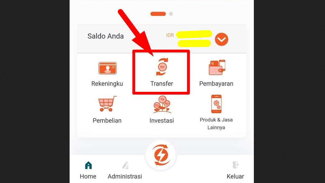 Gambar 3 - Cara bayar virtual account BNI dari mobile banking